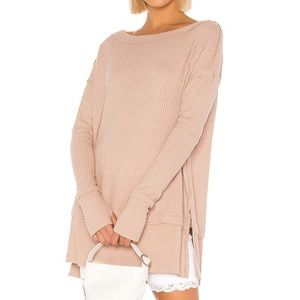 Free People thermal pullover